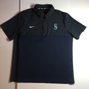 Seattle Mariners Men's Polo (XXL)